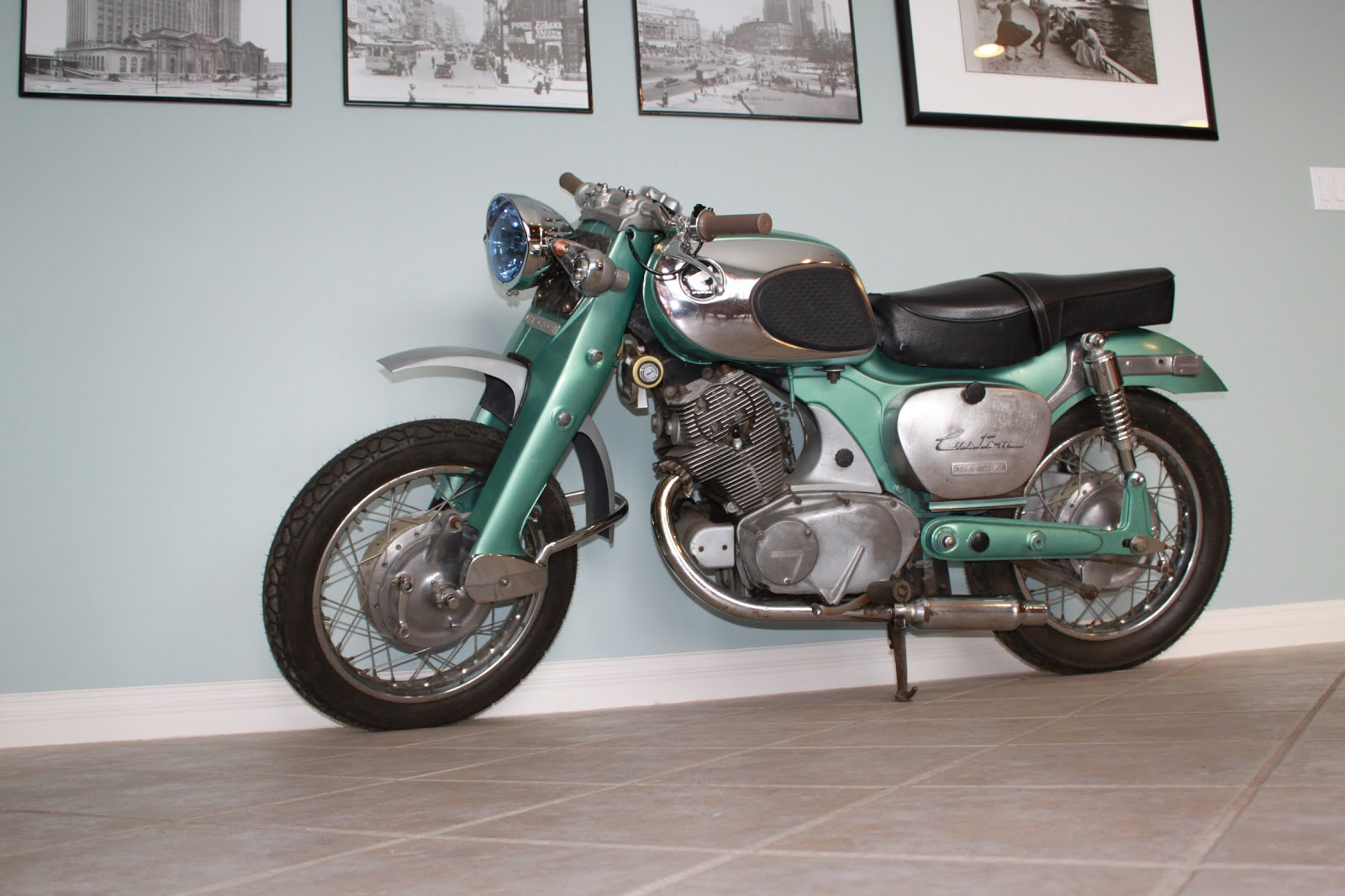 small resolution of 1965 honda dream 305 custom cafe