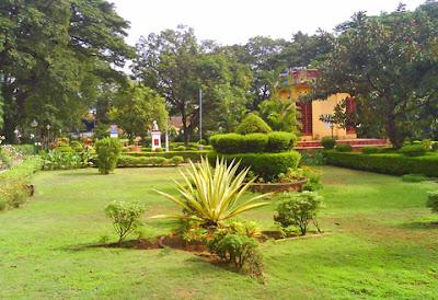 Gandhi Park at Gandhinagar near Mannagudda