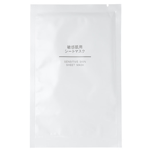 MUJI Sensitive Skin Sheet Mask Review
