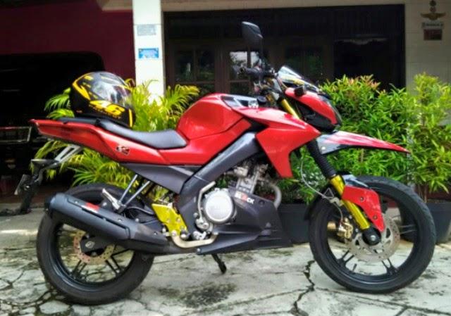 Modifikasi Motor Yamaha Vixion Trail