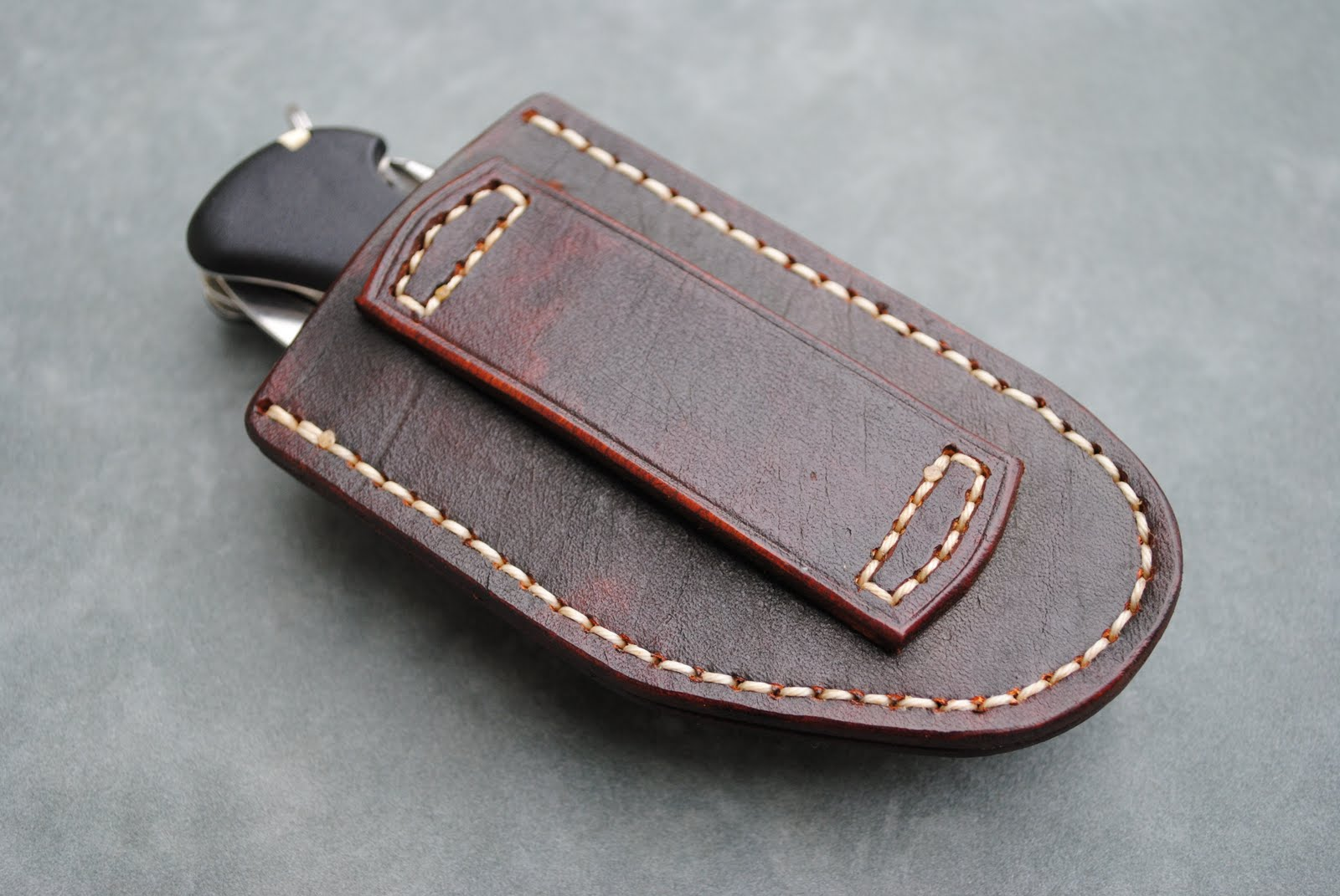 Formed Sheath For Victorinox One Hand Trekker Knife Gun