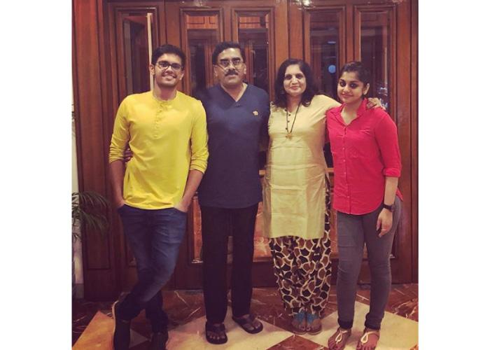 Meera Nandan family