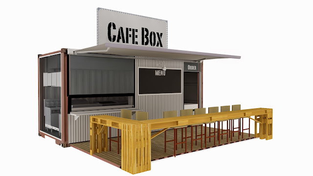 Cafe Container Bandung Cafe Container Jakarta