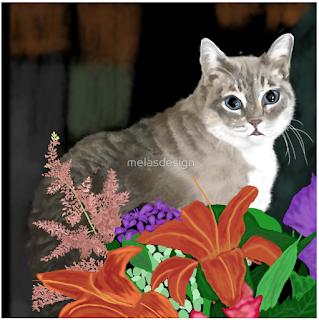 Tinkerbell pet portrait