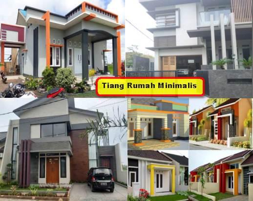 Tiang Rumah Minimalis Desain Terbaru