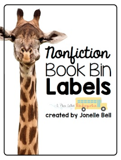 Organize your nonfiction books for kids with these nonfiction book bin labels. Your nonfiction readers will be able to put away nonfiction books with ease if you organize your book corner with these labels.