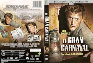 Carátula: El gran carnaval (1951) Ace in the Hole