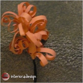 DIY Swirly Paper Flowers 30