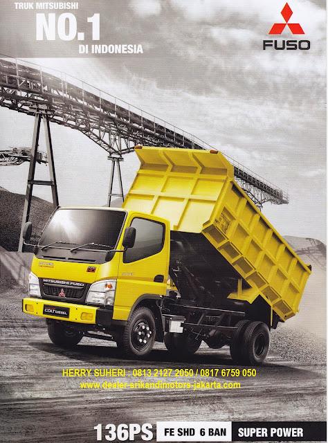 paket kredit dp hemat dump truck colt diesel 2019