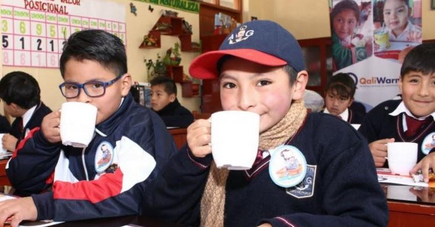 QALI WARMA: Programa social incorporará nuevos productos nutricionales en desayunos escolares - www.qaliwarma.gob.pe