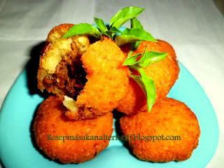 Combro ialah masakan tradisional Sunda Resep Membuat Combro Isi Oncom Pedas