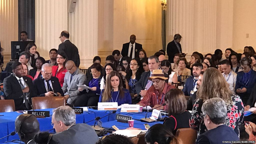 Desde mañana se reúnen en Washington los países miembros de la OEA / VOA