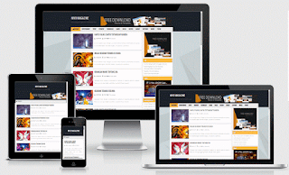 Nivo magazine responsive Blogger template