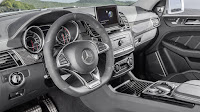 2016 New GLE63 S Coupe Mercedes Benz performance interior dashboard