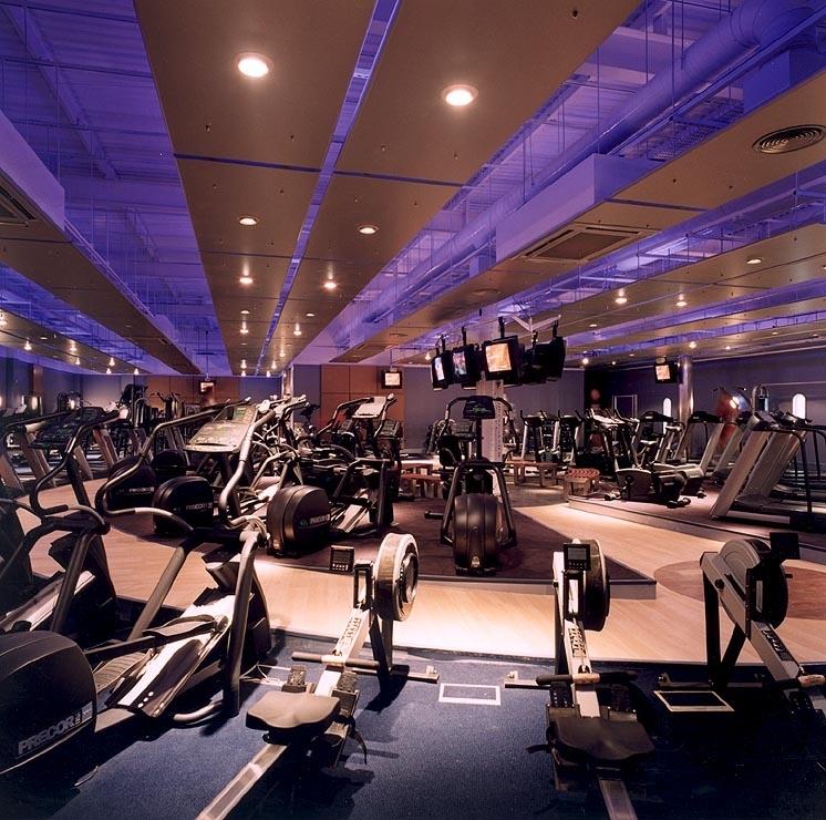 Gym Interior Fitness Design And: MÁQUINAS DE GIMNASIO, CINTAS DE CORRER: DISEÑO DE GIMNASIOS