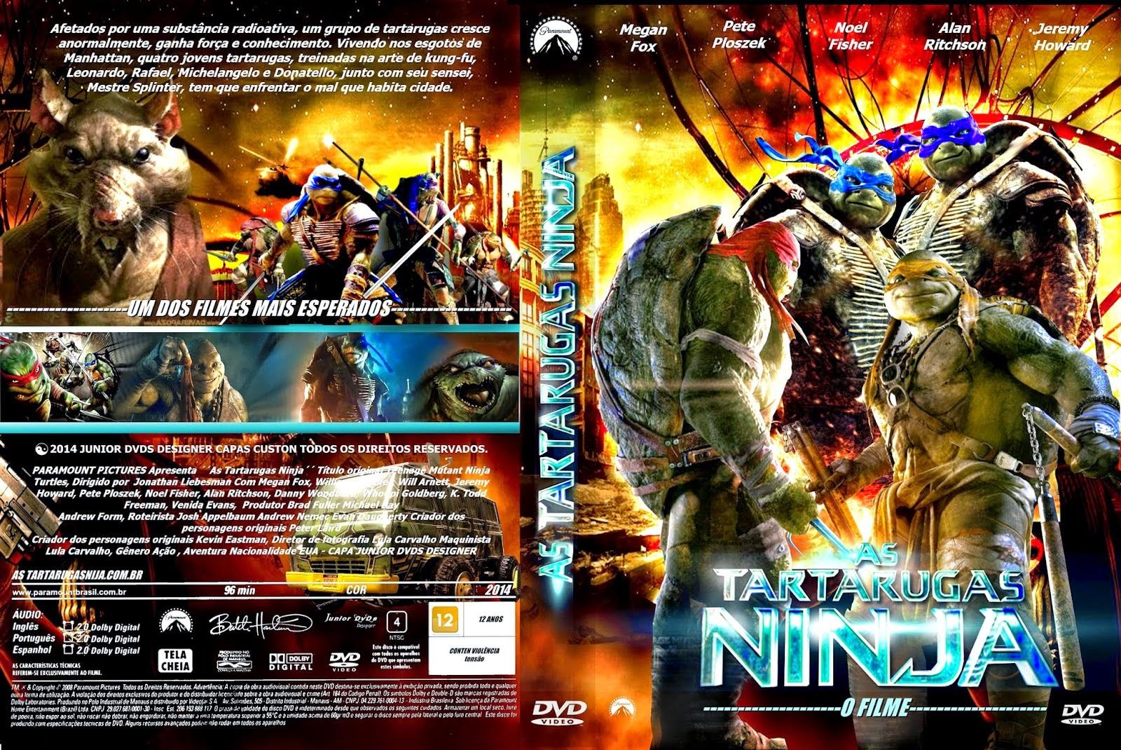 Tartaruga Ninja Filme Sem Venda