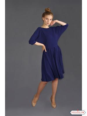 vestidos color azul de fiesta cortos