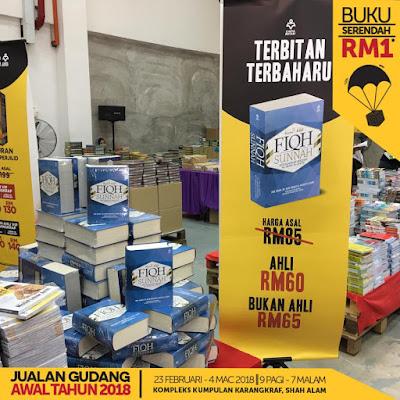 Jualan Gudang Karangkraf 2018