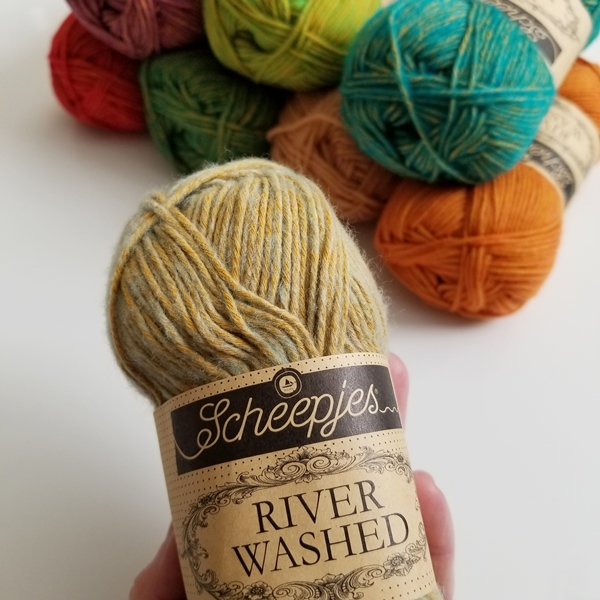 Scheepjes River Washed 8 New Colors
