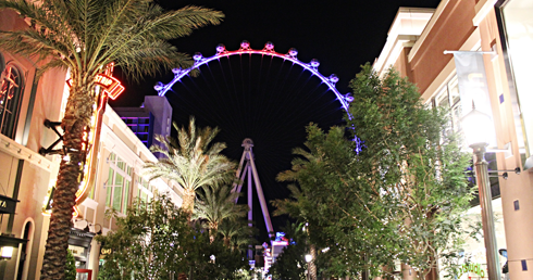 high roller ferris wheel las vegas strip