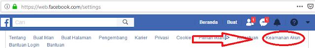facebook, cara membuat akun aman