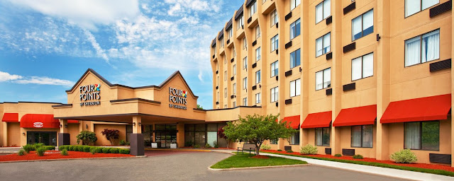 Reserve the stylish hotel rooms in Meriden, Connecticut, that offer comfortable bedding and free Wi-Fi at Four Points by Sheraton Meriden.