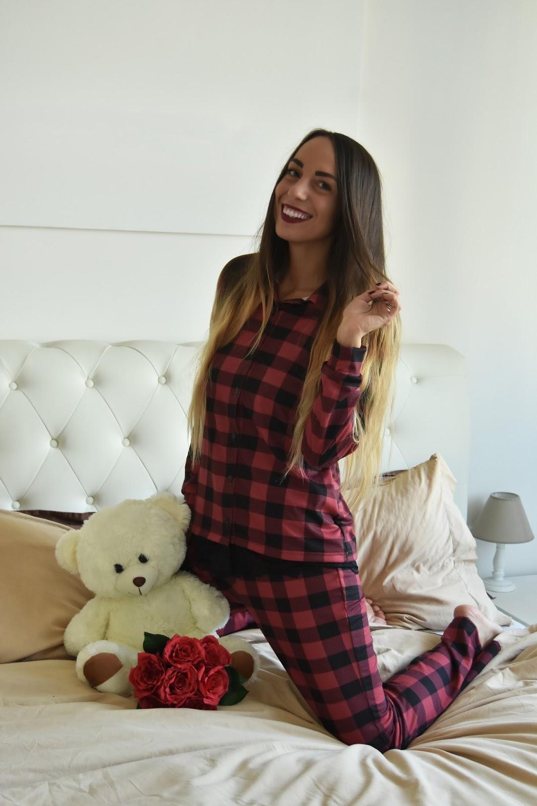 pigiama a quadri