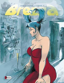 Couverture, Brezza, FineBulle réédition tome 3