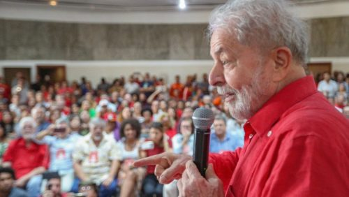 'Ainda vamos fazer mudanças profundas neste país', diz Lula em ato do PT