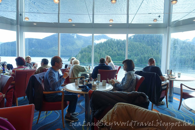 阿拉斯加, 郵輪,Celebrity Infinity, 餐廳, 食物, meals, food, Ocean View Cafe, 自助餐