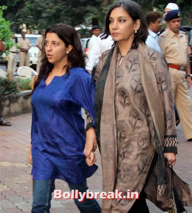 Zoya Akhtar and Shabana Azmi, Celebs at Farooq Sheikh Prayer Meet