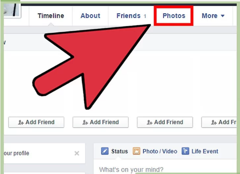 How do i make my cover photo private on facebook