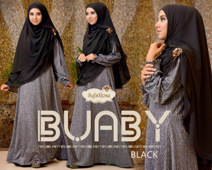contoh gaya busana muslim wanita masa kini