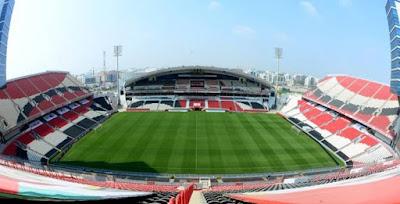 اتحاد الكرة الإماراتي يصدر بيانا يدافع فيه عن ملعب السوبر المصري