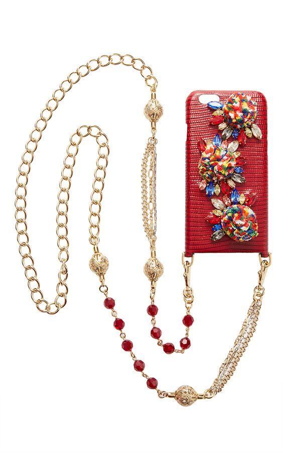 esejo do dia - Corrente com capa de telemóvel  Dolce & Gabbana