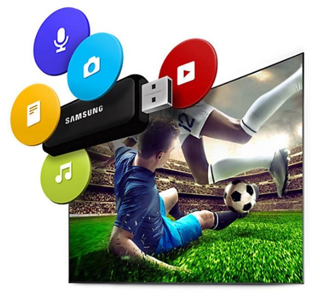 Menonton film dari USB Anda