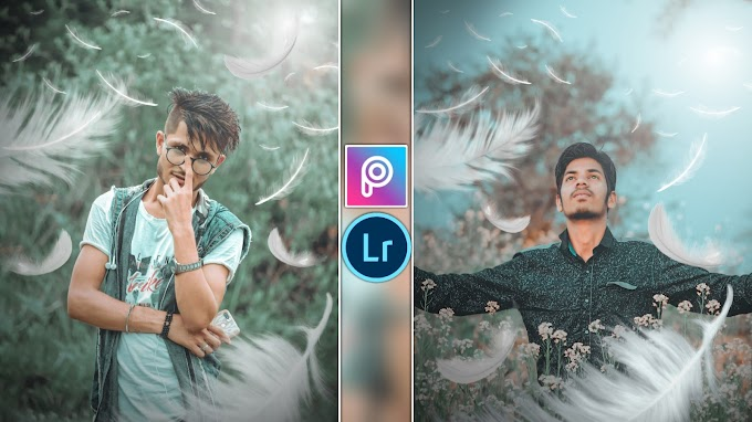PicsArt Feather Effect🔥 || PicsArt & Lightroom Tutorial || AC EDITING ZONE