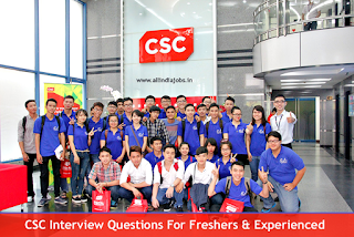 CSC Interview Questions