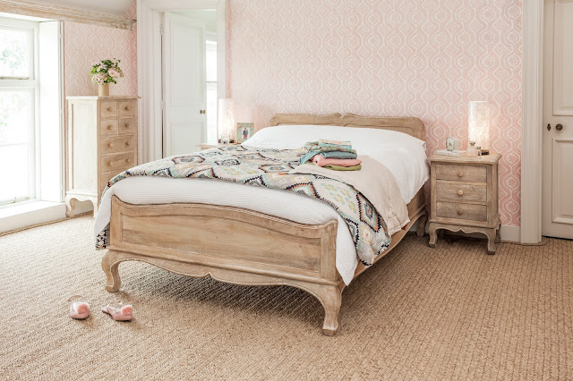 Mango Wood Furniture - Maison Bed