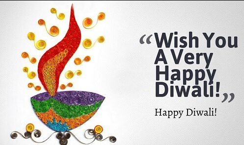 Happy Diwali Quotes, Messages, Wishes in English 2018