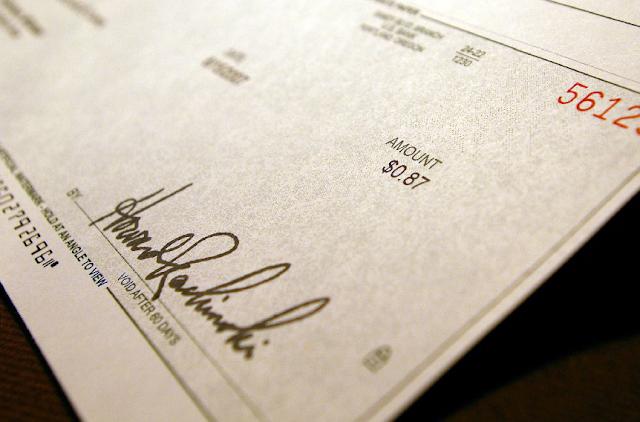 Descontos de cheques pessoais em hotéis em Las Vegas