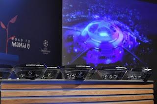 قرعة دوري ابطال اوربا والدوري الاوربي ربع النهائي