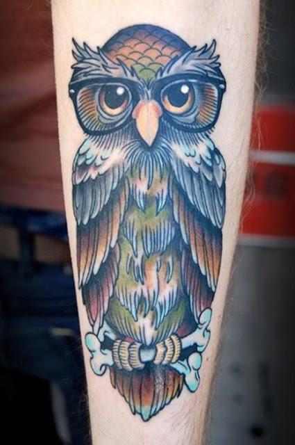 Tatuagens de coruja