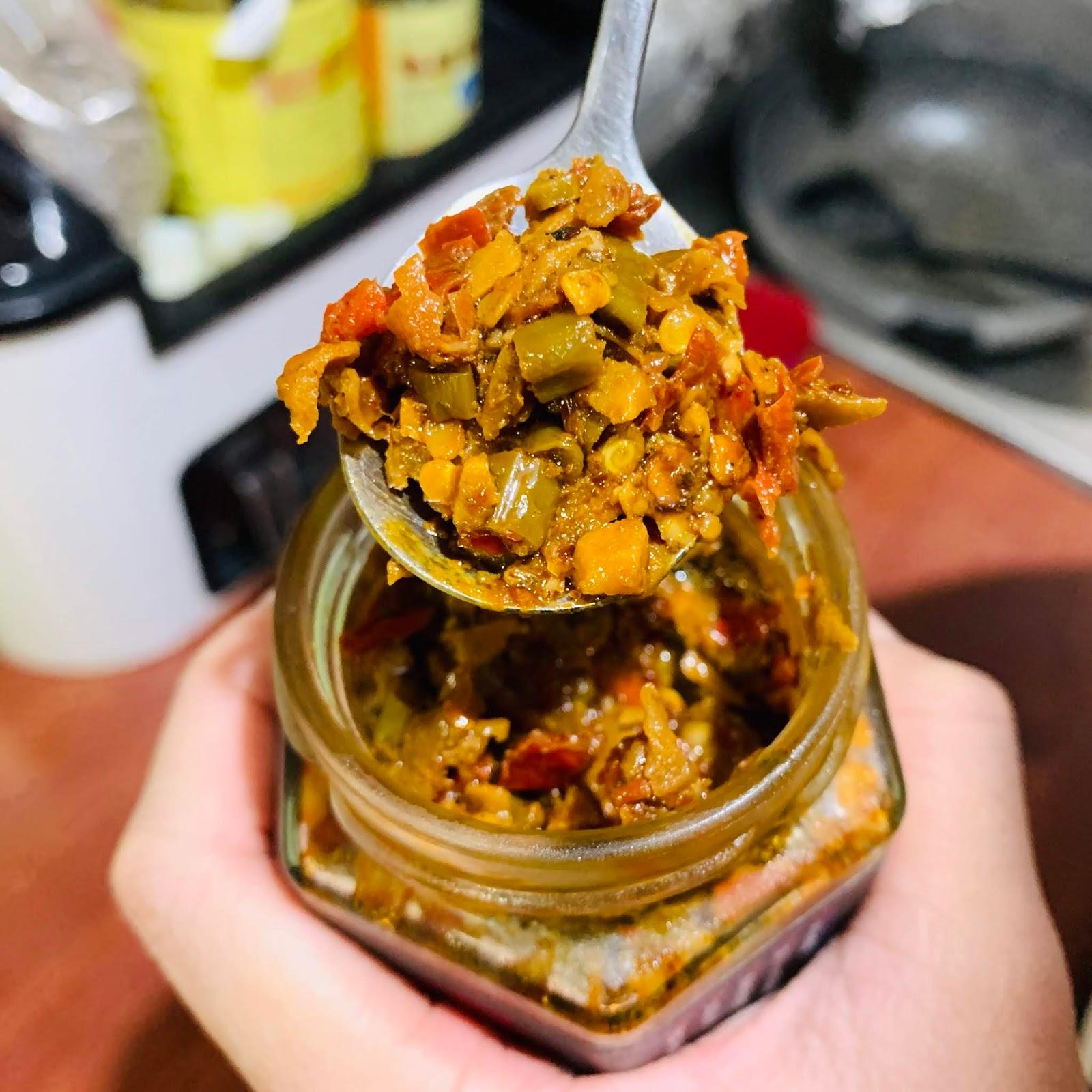 耕禾麻辣酸豇豆醬