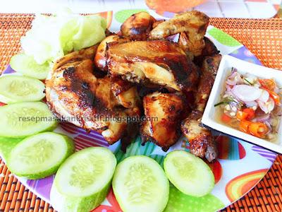 Cara Membuat Ayam Goreng Kalasan Resep Sambal