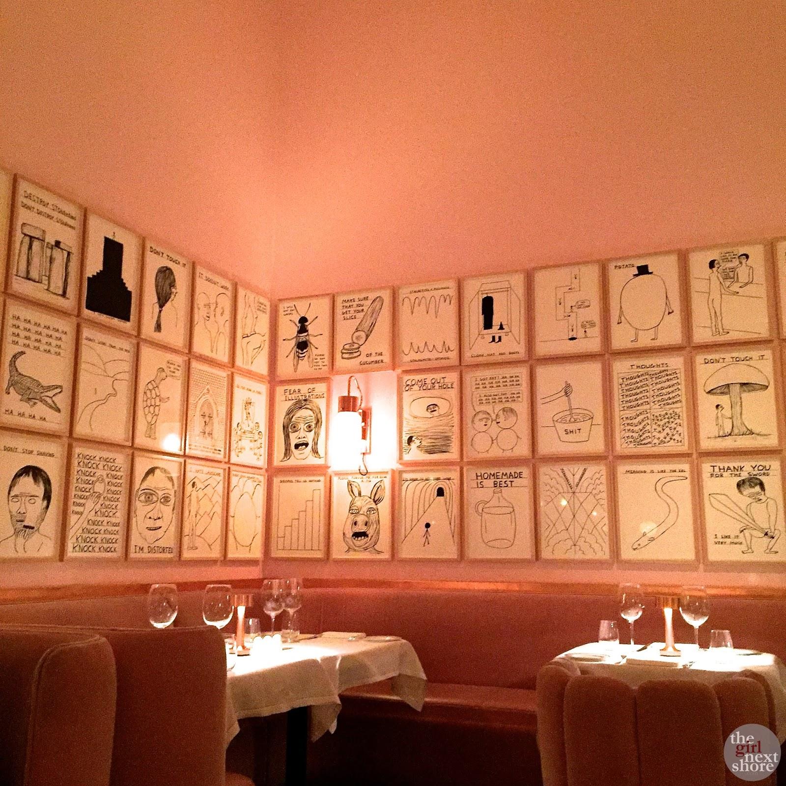 Sketch Restaurant Dining Room