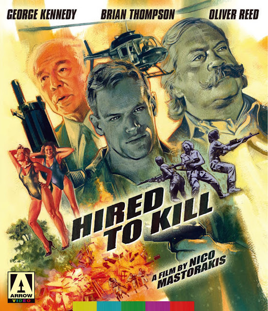 Hired to Kill Blu-ray cover