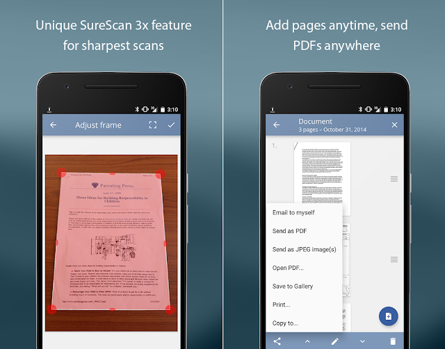 Screenshot TurboScan: document scanner