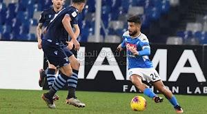 نابولي اول الوصلين لنصف نهائي كأس إيطاليا بعد الفوز المثير على نادي لاتسيو
