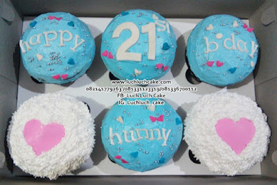 Cupcake Buttercream Romantis